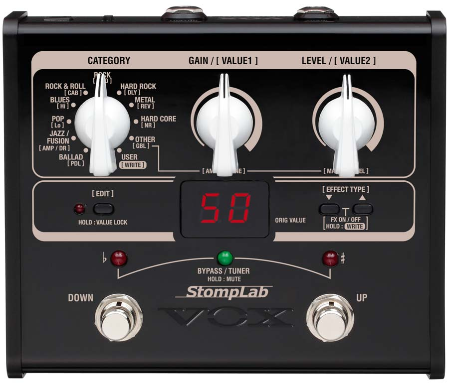 Vox Stomplab IG Guitar/Bass Effects Processor