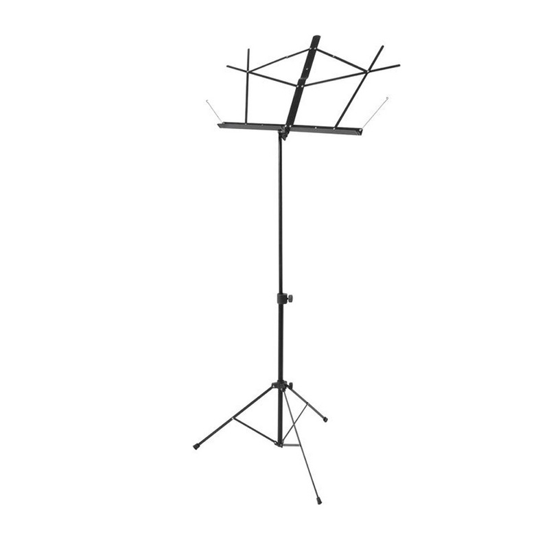 On-Stage Stands SM7122 Compact Sheet Music Stand w/ Carry Travel Bag Black