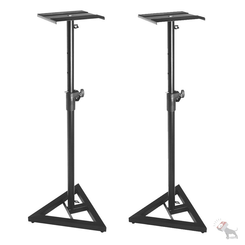 On-Stage Stands SMS6000 Studio Monitor Stands Pair