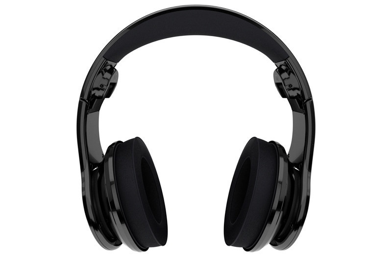 SMS Over-Ear Wired Street Headphones by 50 Cent DJ Pro Performance Black