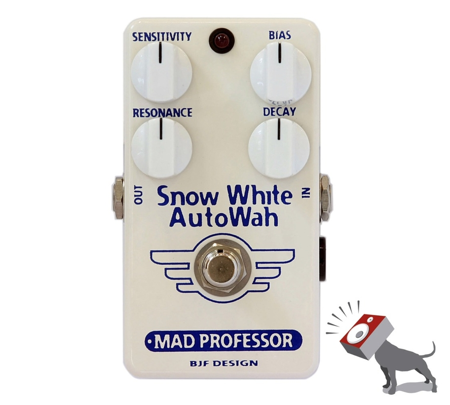 Mad Professor Snow White AutoWah Auto Wah Guitar Effects Pedal SWAW