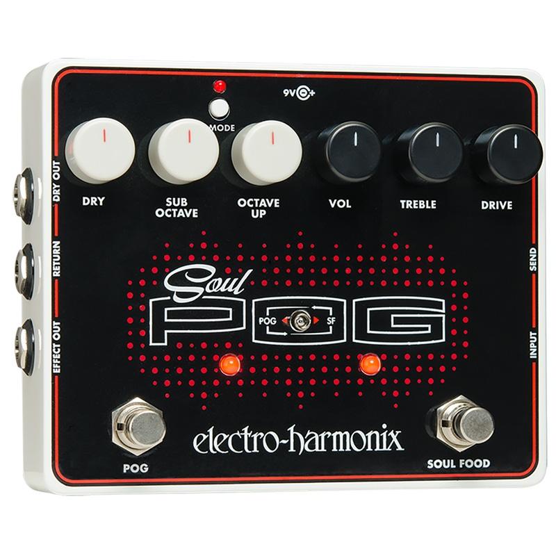 Electro-Harmonix Soul POG Soul Polyphonic Octave Generator Guitar Effects Pedal