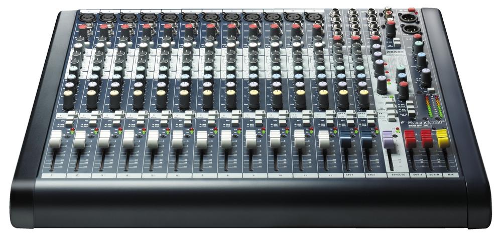 Soundcraft MFXi12 Mixer Console Live Audio Analog Professional 12 Channel