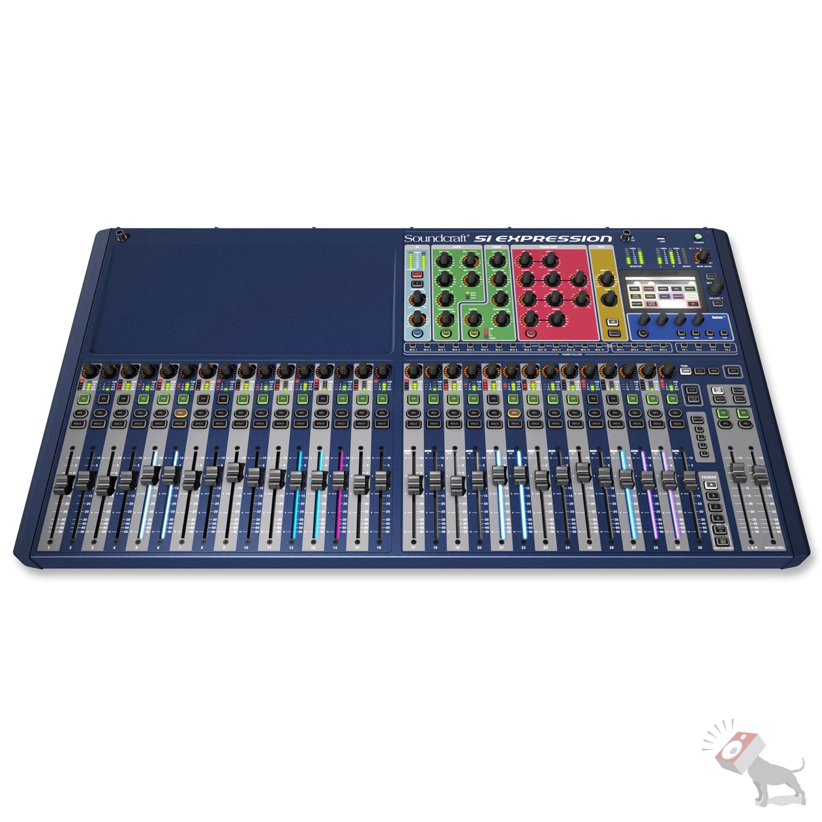 soundcraft si expression 3 32 ch digital mixer 32 channel mixing board studio ebay. Black Bedroom Furniture Sets. Home Design Ideas