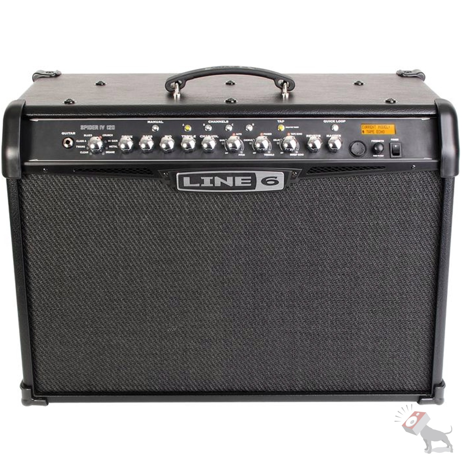 line 6 spider iv 4 amplifier 120 120w 2x10 guitar combo 120 watt amp ebay. Black Bedroom Furniture Sets. Home Design Ideas
