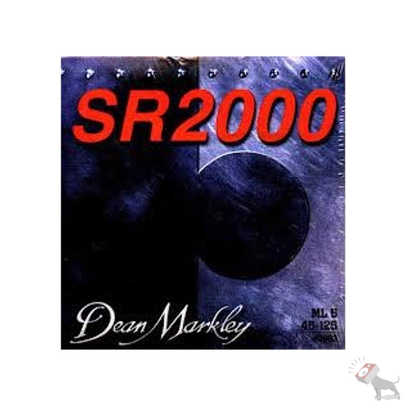 Dean Markley SR2000 ML5 5-String Bass Guitar Strings (46-63-80-102-125) 2693
