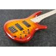 Ibanez SR400EMQM SRT Standard 4-String Electric Bass, Quilt Maple Top - Sunrise Red Burst