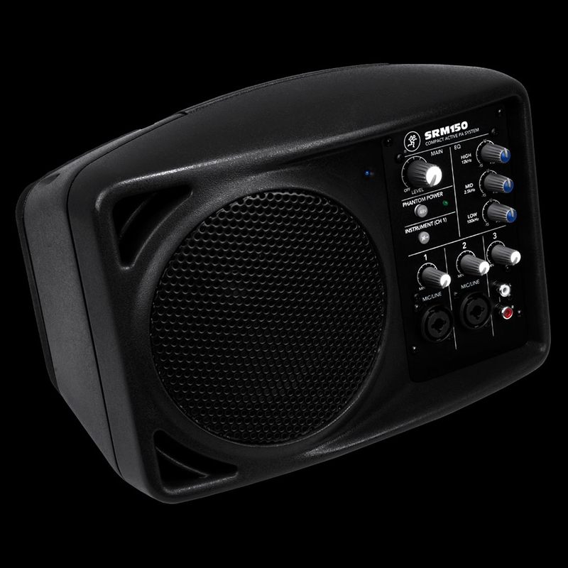 Mackie Srm150 5 Compact Active Pa Speaker Monitor System