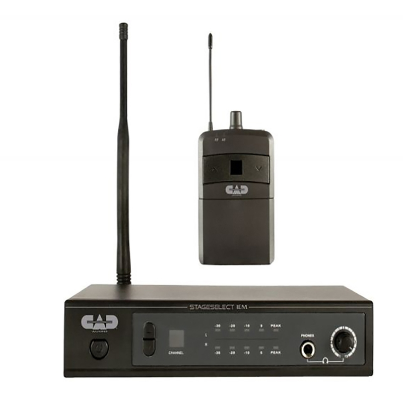CAD Audio Stage Select IEM Wireless In-Ear Monitor System, 470-498MHz