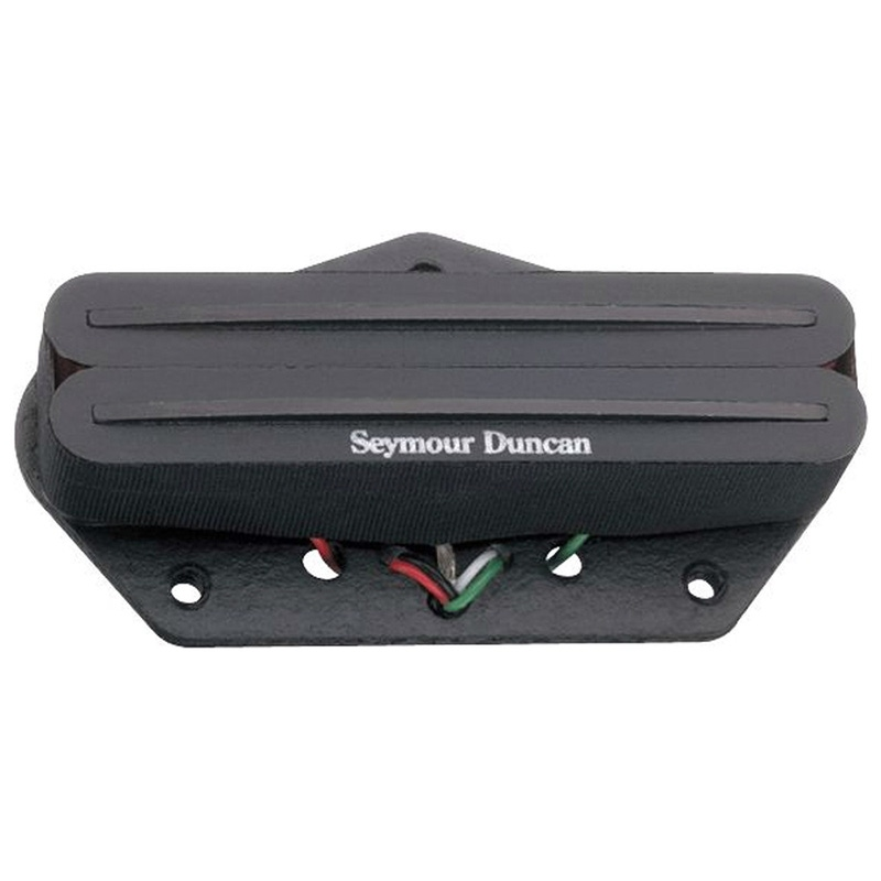 Seymour Duncan STHR-1b Hot Rails Lead for Tele Guitar Bridge Pickup Black