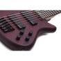Schecter Stiletto Custom-6 6-String Bass, EMG Pickups - Vampyre Red Satin