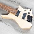 Strandberg Boden Original 8 Headless 8-String Guitar, Roasted Birdseye Maple Fretboard, Natural