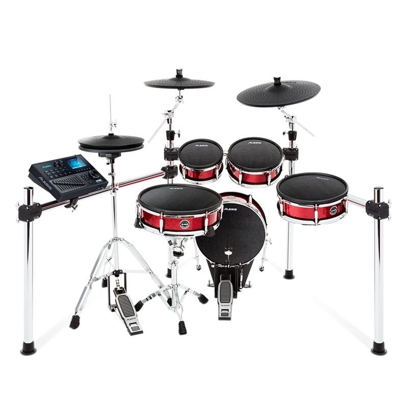 Alesis Strike Kit 8-Piece Professional Electronic Drum Kit with Mesh Heads