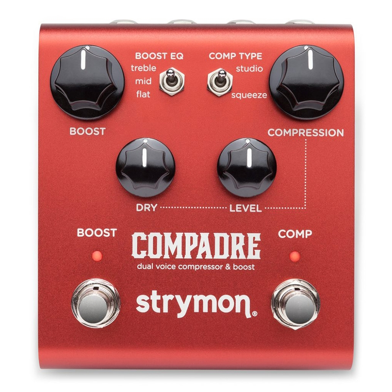 Strymon Engineering Compadre Dual Voice Compressor & Boost Guitar Effects Pedal