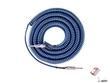 Lava LCSCLMB Super Coil Straight-to-Same Guitar Instrument Cable, 35 ft (Metallic Blue)