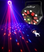 Chauvet Swarm 5 FX 3 in 1 LED RGBAW Rotating Derby and Laser Effect