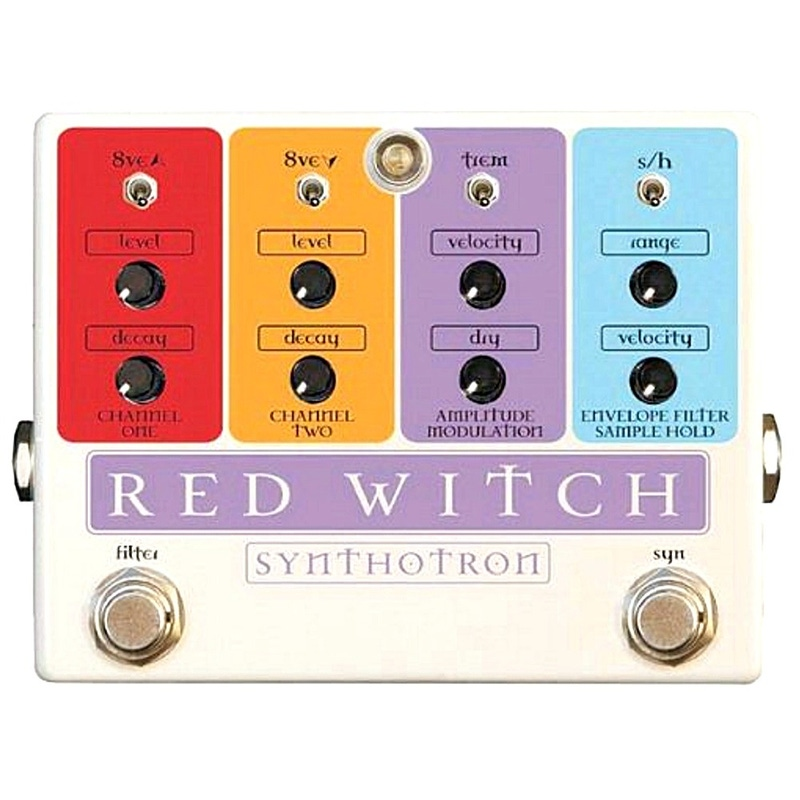 Red Witch Synthotron Synth Filter Guitar Effects Pedal