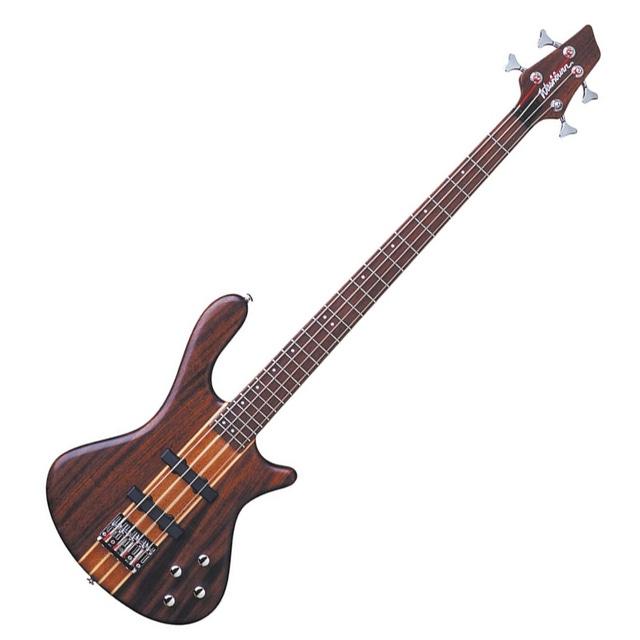 Washburn T24NMK Taurus Series Electric Bass Guitar with Gig Bag (Natural Matte)