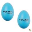 Tycoon Percussion TE-B Egg Shakers Plastic Pair (Blue)