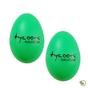 Tycoon Percussion TE-G Egg Shakers Plastic Pair (Green)