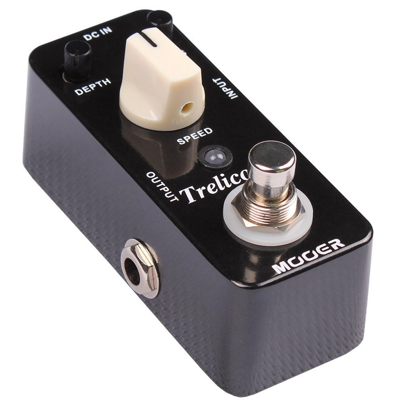 Mooer Trelicopter tremolo optical true bypass effects guitar pedal