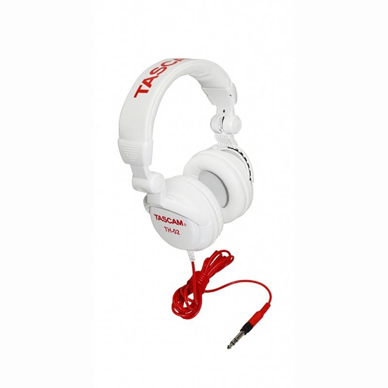 Tascam TH-02W Headphones White