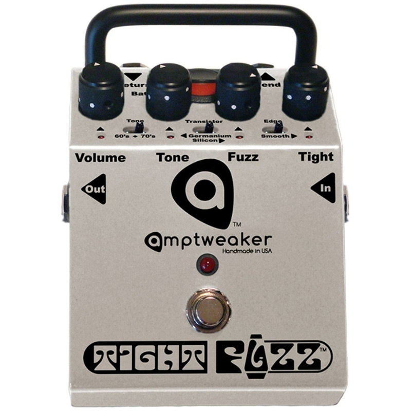 Amptweaker Tight Fuzz Tone Distortion Guitar Effect Pedal