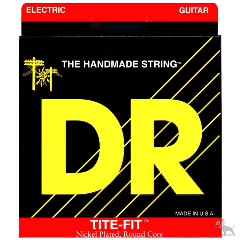 DR Strings MH-10 Tite Fit Medium Heavy Electric Guitar Strings (10-50)