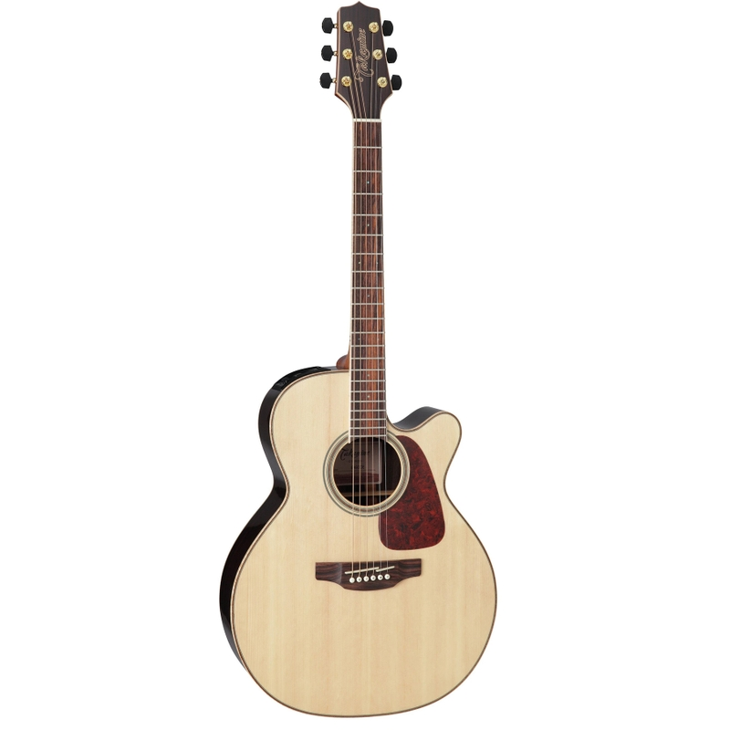 Takamine GN93CE Acoustic Electric Guitar w/ Hard Case, Solid Spruce Top, Natural