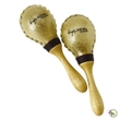 Tycoon Percussion TMS-120 Large Round Rawhide Maracas