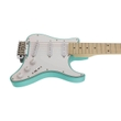 Traveler Guitar Travelcaster Deluxe Compact Mini Electric Guitar w/ Gig Bag, Surf Green