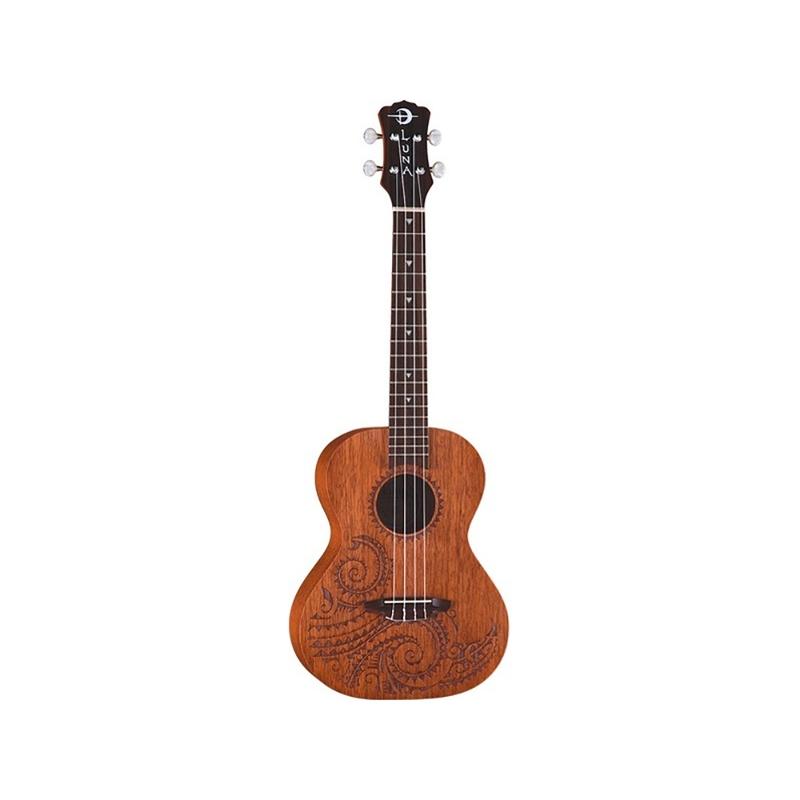 Luna Guitars Tattoo Tenor Mahogany Ukulele