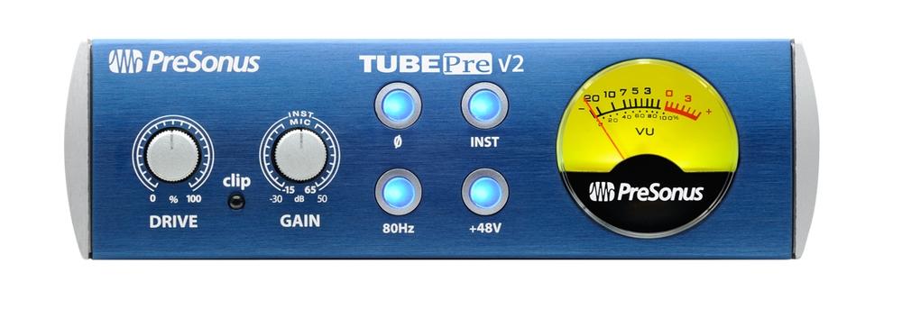 Presonus TubePre V2 1 Channel Tube Preamplifier / DI Box