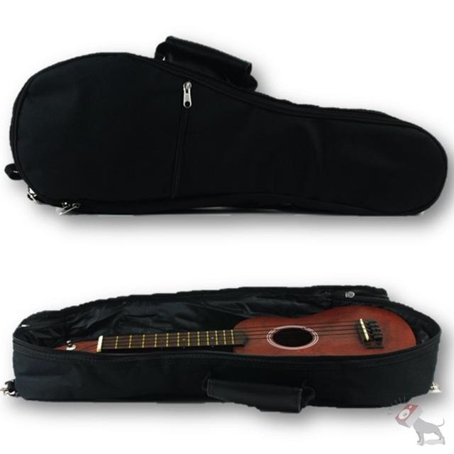 Kala UB-B Baritone Ukulele Padded Black Uke Gig Bag