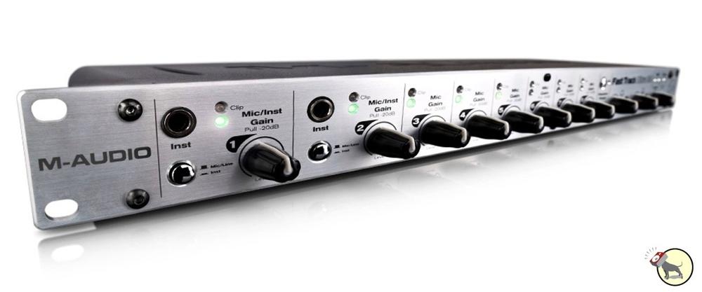 M-Audio Fast Track Ultra 8R USB Audio Interface Pro Tools SE