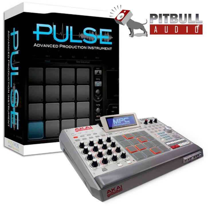 AKAI MPC Renaissance Music Production Controller w/ Free SONiVOX PULSE Software