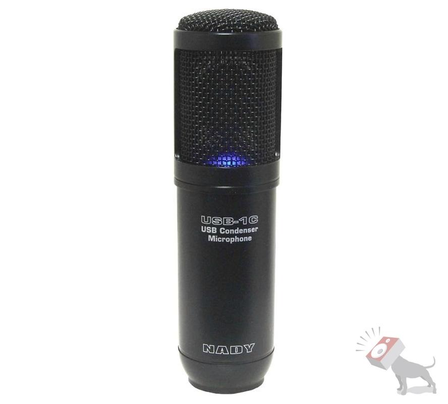 Nady USB-1C USB Mic Studio Recording Cardioid Condenser Diaphragm Microphone