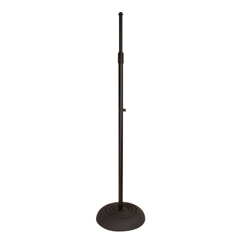 Ultimate Support JS-MCRB100 Round Base Mic Stand with Fixed Boom