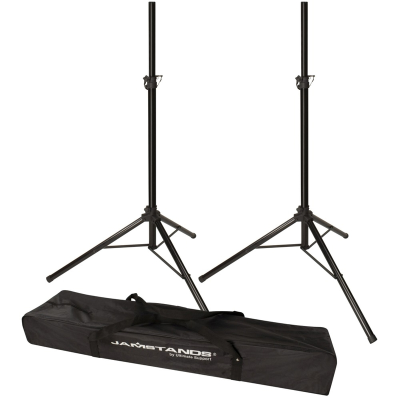Ultimate Support JS-TS50-2 Pair of Tripod Speaker Stand with Carrying Bag