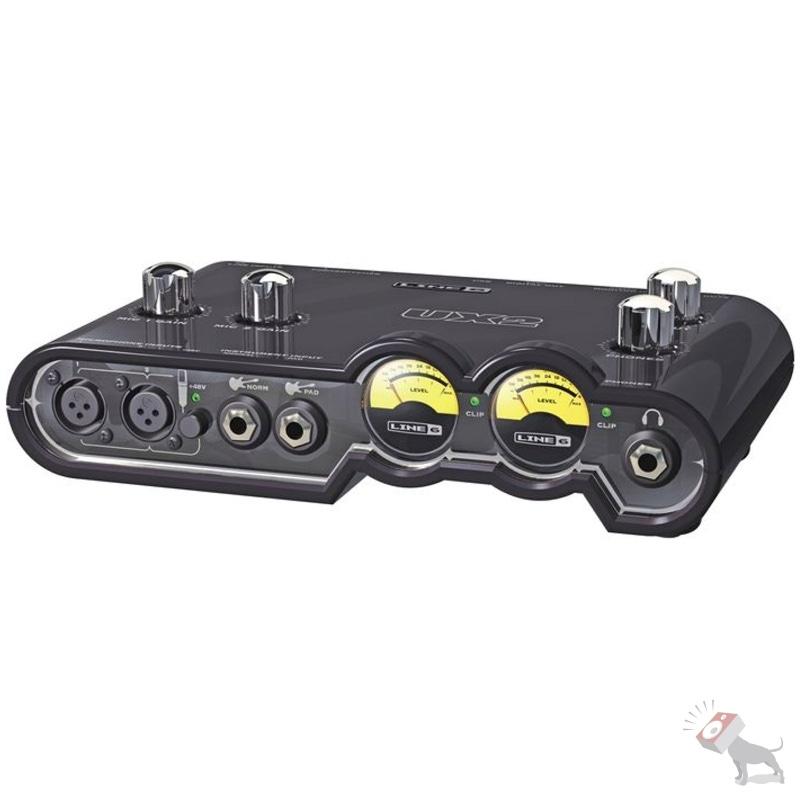 Line 6 POD Studio UX2 USB Audio Recording Interface w/ POD Farm Reason Software