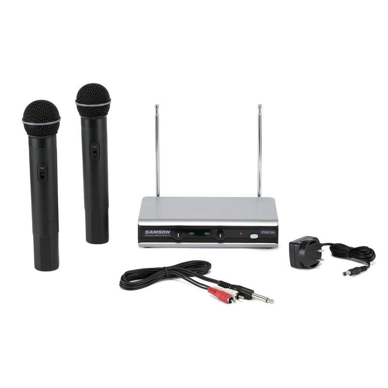 Samson v266 SHT6U-321 Handheld Dual Vocal Wireless System