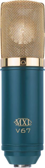 MXL V67G Studio Condenser Large Diaphragm Marshall Recording Microphone MXLV67G