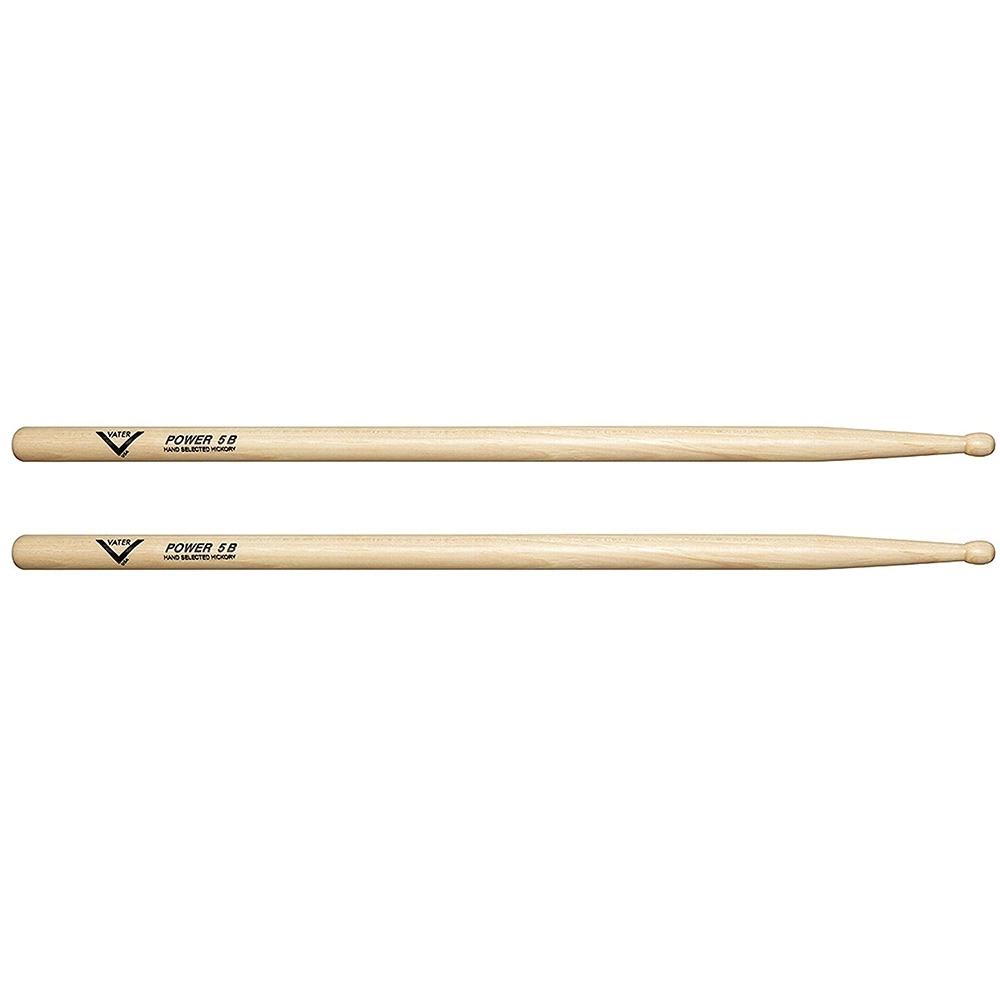 Vater American Hickory Power 5A Drum Sticks