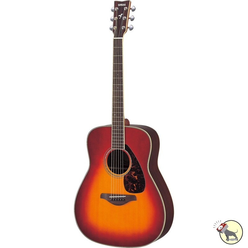 Yamaha FG730S Acoustic Guitar (Vintage Cherry Sunburst)