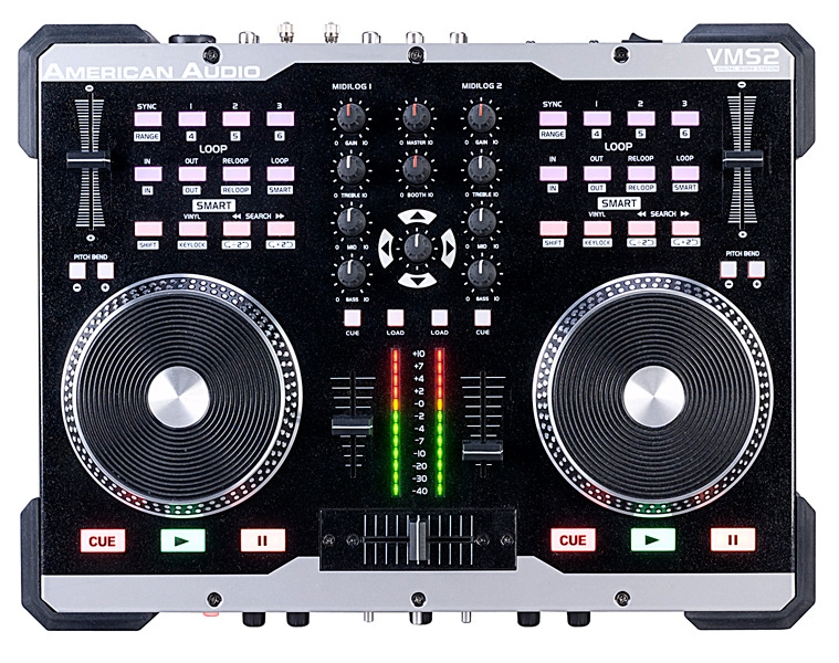 American Audio VMS2 2 Channel DJ Controller