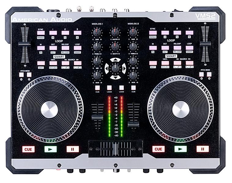 American Audio VMS2 2 Channel DJ Controller
