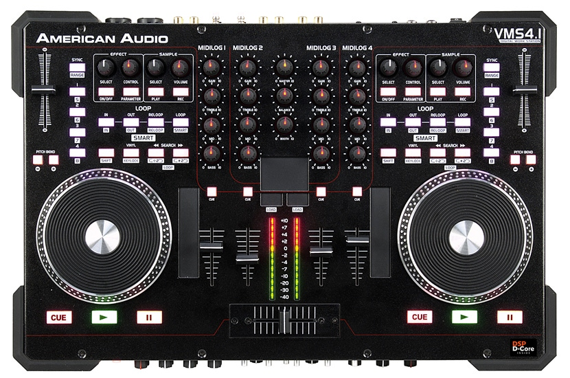 American Audio VMS4.1 4 Channel DJ Controller