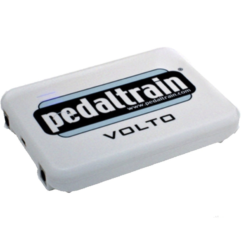 Pedaltrain Volto Compact Rechargable 9 Volt Power Supply for Guitar Effects Pedals