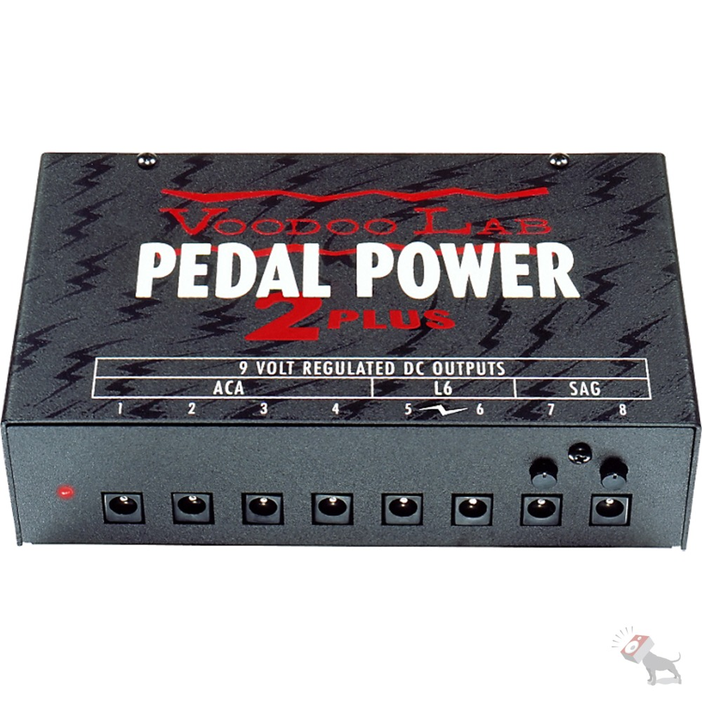 voodoo lab pedal power 2 plus 9v 12v 18v 24v dc effect pedal power supply 813140001215 ebay. Black Bedroom Furniture Sets. Home Design Ideas