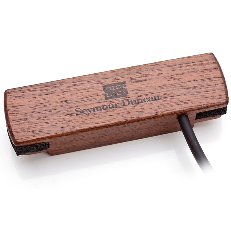 Seymour Duncan Woody HC Hum Canceling Acoustic Guitar Soundhole Pickup SA-3HC Walnut 11500-31-WLN